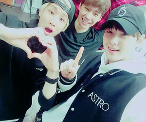 rocky, eunwoo, and jinjin image