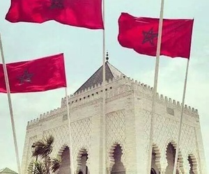 flag, morocco, and mon pays image