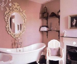 bath, home, and vintage image