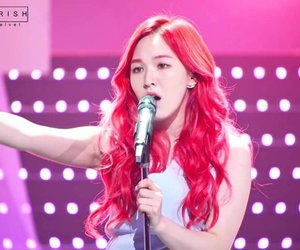 pink hair, red hair, and wendy image