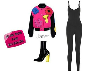 bag, fashion, and jacket image
