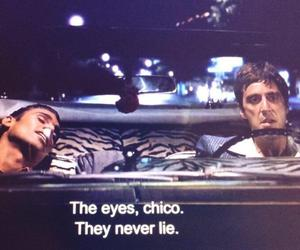 eyes, quotes, and scarface image