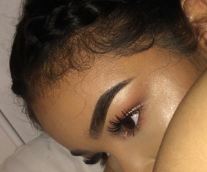 bold, eyebrows, and poppin image