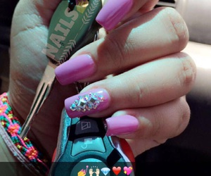 easel, nails, and hermosas image