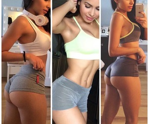 ass, fit, and fitness image