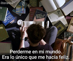 books, libros, and life image