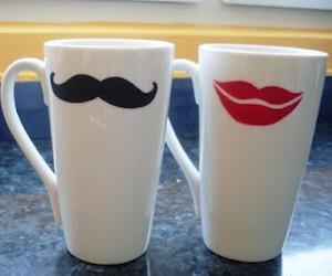 mug and mustache image