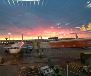 airport, beautiful, and frankfurt image
