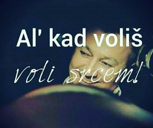 balkan, volim te, and srce image
