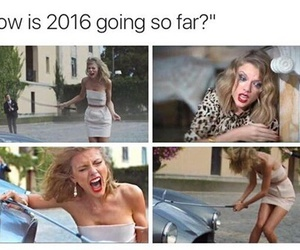 funny, 2016, and Taylor Swift image