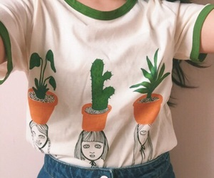 cactus, clothes, and green image