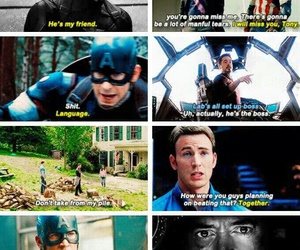 Marvel, captain america, and civil war image