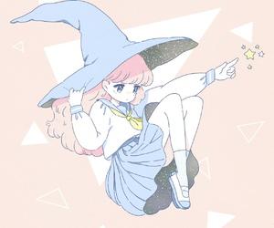witch, anime, and kawaii image