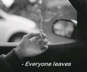smoke, sad, and quotes image