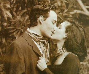 love, kiss, and johnny depp image