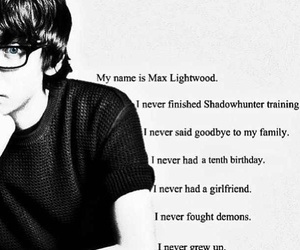 max lightwood, city of glass, and shadowhunters image
