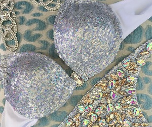 bling bling, swimwear, and jewels image