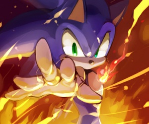 rings, sonic, and Sonic the hedgehog image