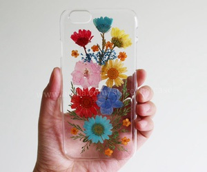 diy, floral, and pressed flowers image