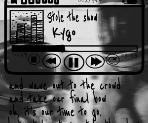 lyric, song, and kygo image