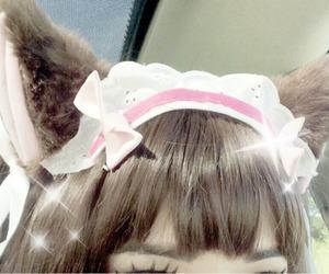 kawaii, cute, and cat ears image