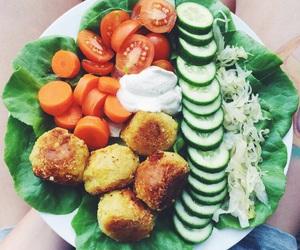 salad and vegan image