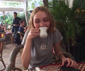 lily rose depp, model, and indie image