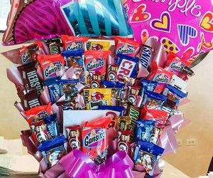 candy, birthday, and gift image