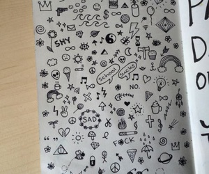 draw, cool, and doodle image