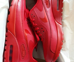 nike, red, and airmax image