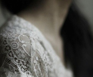 girl, lace, and vintage image