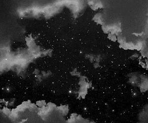 gif, stars, and sky image
