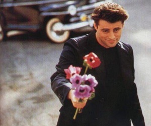 friends, flowers, and Joey image