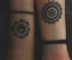 tattoo, mandala, and grunge image