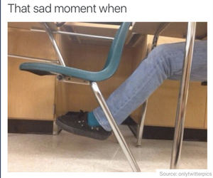 funny, school, and sad image