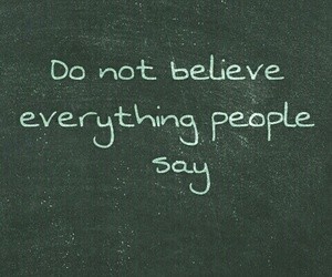 believe, people, and phrase image