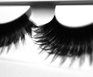 eyelashes and eyes image