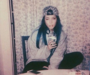 halsey, hair, and badlands image