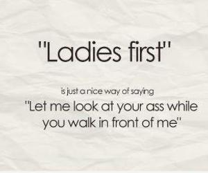first, funny, and ladies image