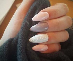 beautiful, girl, and nails. beauty image
