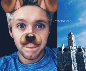 one direction, blue, and niall horan image
