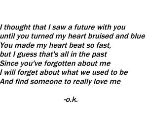 broken, feelings, and forgotten image