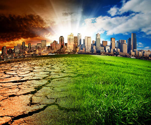 climate change and causes of climate change image