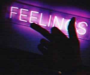 neon lights and purple image