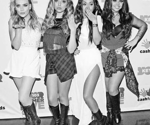 black and white, black magic, and little mix image