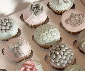 cupcake, sweet, and beautiful image