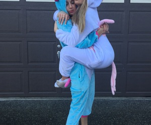 unicorn, friends, and goals image