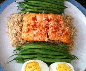 food, healthy, and egg image