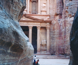 petra, photography, and architecture image