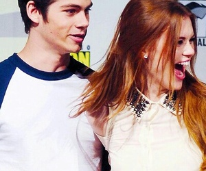 couple, dylan o'brien, and stydia image